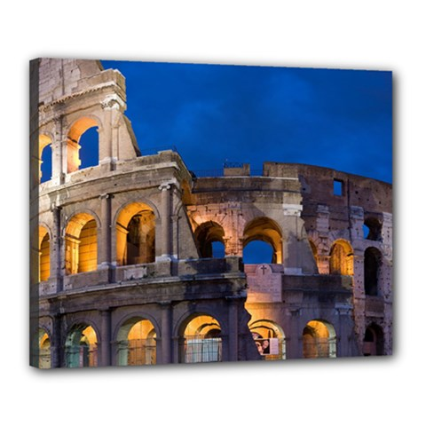 Rome Colosseum 2 Canvas 20  X 16  by trendistuff