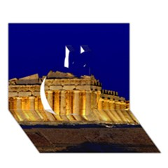 Parthenon 2 Apple 3d Greeting Card (7x5)  by trendistuff