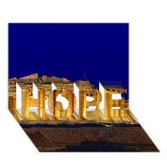 Parthenon 2 Hope 3d Greeting Card (7x5)  by trendistuff