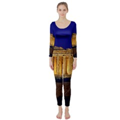 Parthenon 2 Long Sleeve Catsuit by trendistuff