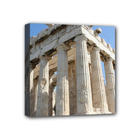 Parthenon Mini Canvas 4  X 4  by trendistuff