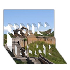 Great Wall Of China 3 You Rock 3d Greeting Card (7x5)
