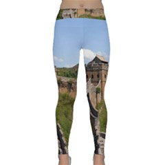 Great Wall Of China 3 Yoga Leggings by trendistuff