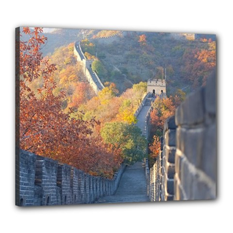 Great Wall Of China 1 Canvas 24  X 20  by trendistuff