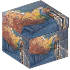 Great Wall Of China 1 Storage Stool 12   by trendistuff