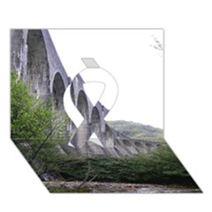 Glenfinnan Viaduct 2 Ribbon 3d Greeting Card (7x5)