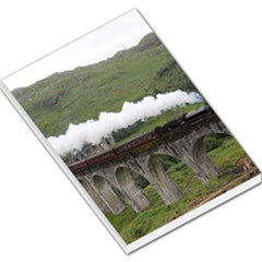 Glenfinnan Viaduct 1 Large Memo Pads by trendistuff