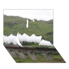 Glenfinnan Viaduct 1 Apple 3d Greeting Card (7x5)