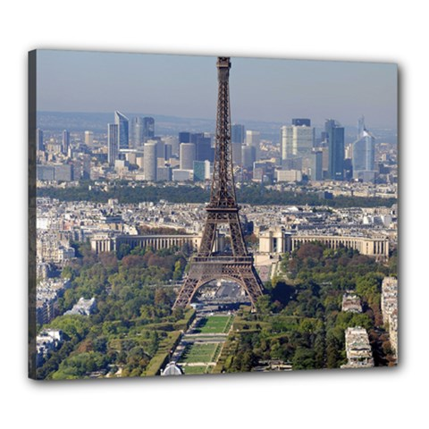 Eiffel Tower 2 Canvas 24  X 20  by trendistuff