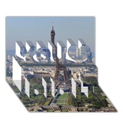 Eiffel Tower 2 You Did It 3d Greeting Card (7x5) by trendistuff