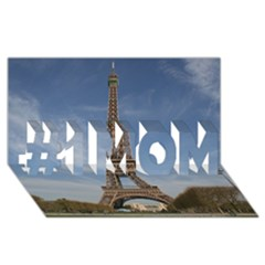 Eiffel Tower #1 Mom 3d Greeting Cards (8x4)