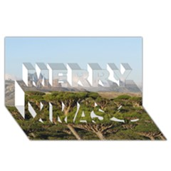 Socotra, Yemen Merry Xmas 3d Greeting Card (8x4)  by trendistuff