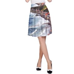 Scotland Crovie A-line Skirt by trendistuff