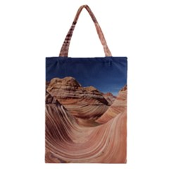 Petrified Sand Dunes Classic Tote Bags by trendistuff