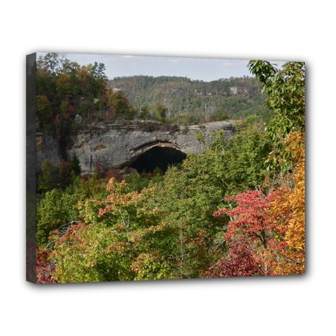 Natural Arch Canvas 14  X 11  by trendistuff