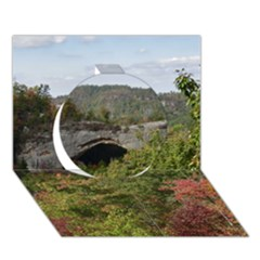 Natural Arch Circle 3d Greeting Card (7x5)  by trendistuff