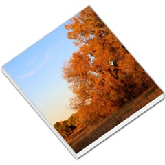 Beautiful Autumn Day Small Memo Pads by trendistuff