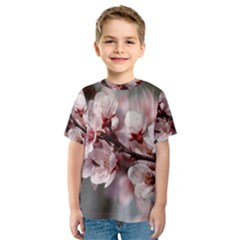 Plum Blossoms Kid s Sport Mesh Tees