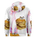 MAL GIRL AND MR PANCAKE Men s Pullover Hoodies View2