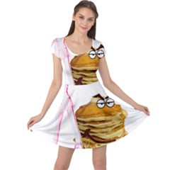 Mal Girl And Mr Pancake Cap Sleeve Dresses by michaelandrewlaw