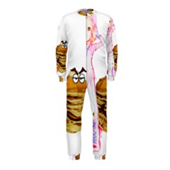 Mal Girl And Mr Pancake Onepiece Jumpsuit (kids)