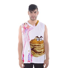 Mal Girl And Mr Pancake Men s Basketball Tank Top by michaelandrewlaw