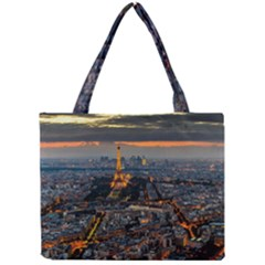 Paris From Above Tiny Tote Bags by trendistuff