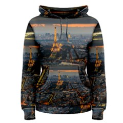 Paris From Above Women s Pullover Hoodies