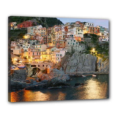 Manarola Italy Canvas 20  X 16  by trendistuff