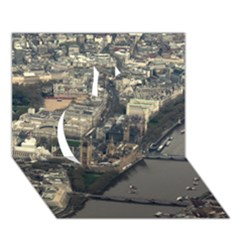 London Apple 3d Greeting Card (7x5)