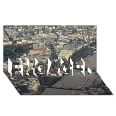 London Engaged 3d Greeting Card (8x4)  by trendistuff