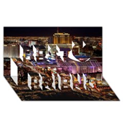 Las Vegas 2 Best Friends 3d Greeting Card (8x4)  by trendistuff