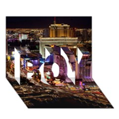 Las Vegas 2 Boy 3d Greeting Card (7x5) by trendistuff