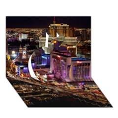 Las Vegas 2 Apple 3d Greeting Card (7x5)  by trendistuff