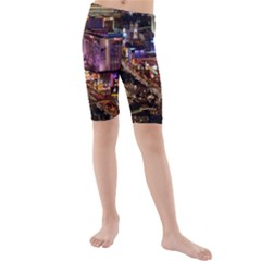 Las Vegas 2 Kid s Mid Length Swim Shorts by trendistuff