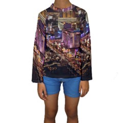 Las Vegas 2 Kid s Long Sleeve Swimwear by trendistuff