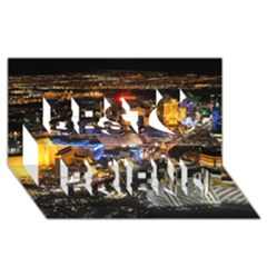 Las Vegas 1 Best Friends 3d Greeting Card (8x4)  by trendistuff