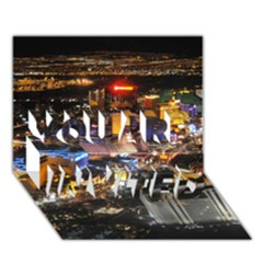 Las Vegas 1 You Are Invited 3d Greeting Card (7x5)  by trendistuff