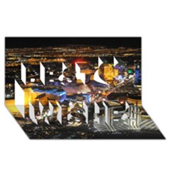 Las Vegas 1 Best Wish 3d Greeting Card (8x4)  by trendistuff