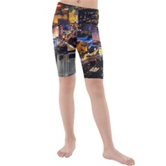 Las Vegas 1 Kid s Mid Length Swim Shorts by trendistuff