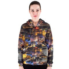 Las Vegas 1 Women s Zipper Hoodies by trendistuff