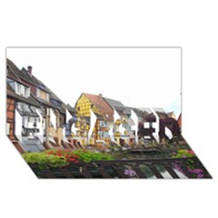 Colmar France Engaged 3d Greeting Card (8x4)  by trendistuff
