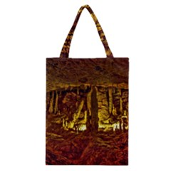 Volcano Cave Classic Tote Bags