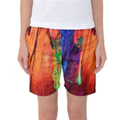 Reed Flute Caves 4 Women s Basketball Shorts