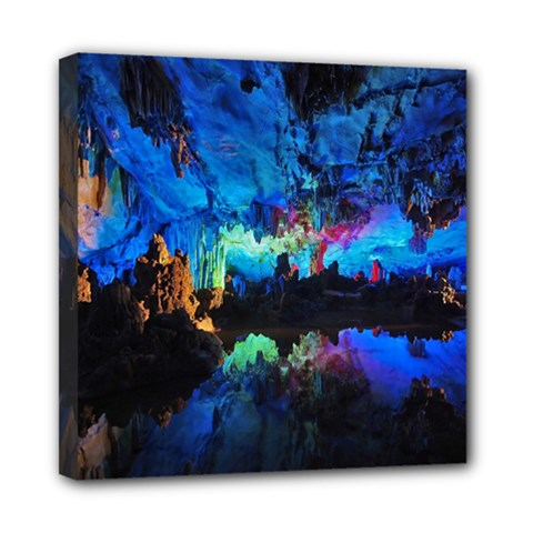 Reed Flute Caves 2 Mini Canvas 8  X 8