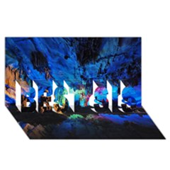 Reed Flute Caves 2 Best Sis 3d Greeting Card (8x4)  by trendistuff