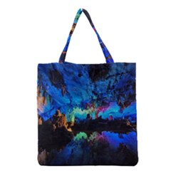 Reed Flute Caves 2 Grocery Tote Bags