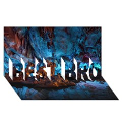 Reed Flute Caves 1 Best Bro 3d Greeting Card (8x4)  by trendistuff