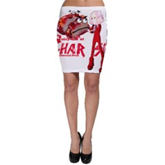 Michael Andrew Law s Mal Girl & Mr Bbq Pork Bodycon Skirts by michaelandrewlaw