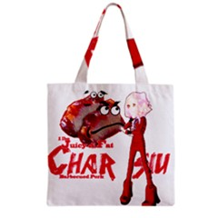 Michael Andrew Law s Mal Girl & Mr Bbq Pork Grocery Tote Bags by michaelandrewlaw
